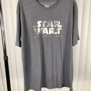 Star Wars Opening Day at Disney Park Gray T-Shirt